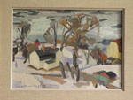 Artrid Harms-Ringdahls vy över vårt område, 1963